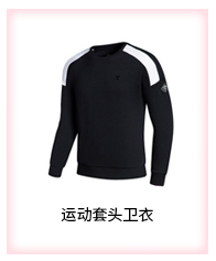 特步 男款长袖T恤2016新款 舒适圆领男套头衫883129039610-
