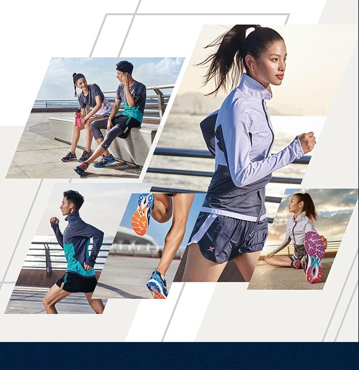 特步马拉松跑步装备