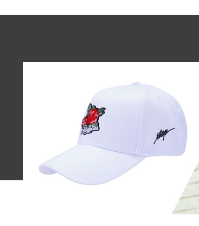 特步刺绣运动帽