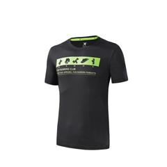 特步-透气跑步T恤