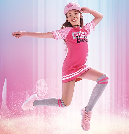 特步童鞋-爆款时髦儿童跑鞋
