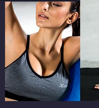 特步运动服-运动胸衣