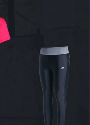 特步运动裤-女训练长裤