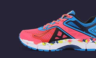 特步跑步鞋-减震女跑鞋