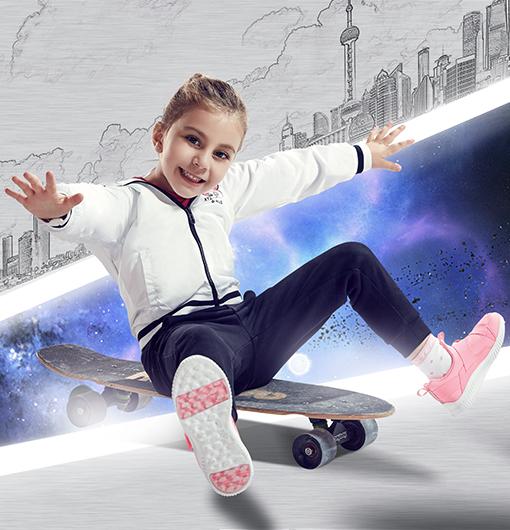 特步童鞋-爆款时尚儿童跑鞋