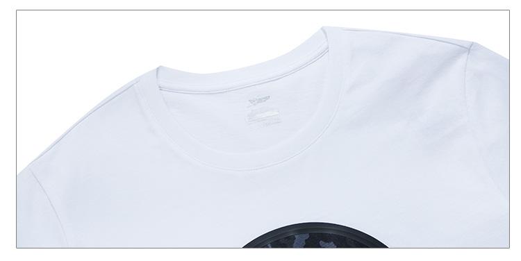 特步 男子夏季T恤 都市时尚男装882229019106-