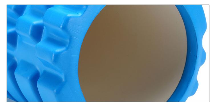 特步 2017新款EVA空心瑜伽柱  肌肉放松滚轴颗粒棒健身瑜伽棒883237809002-