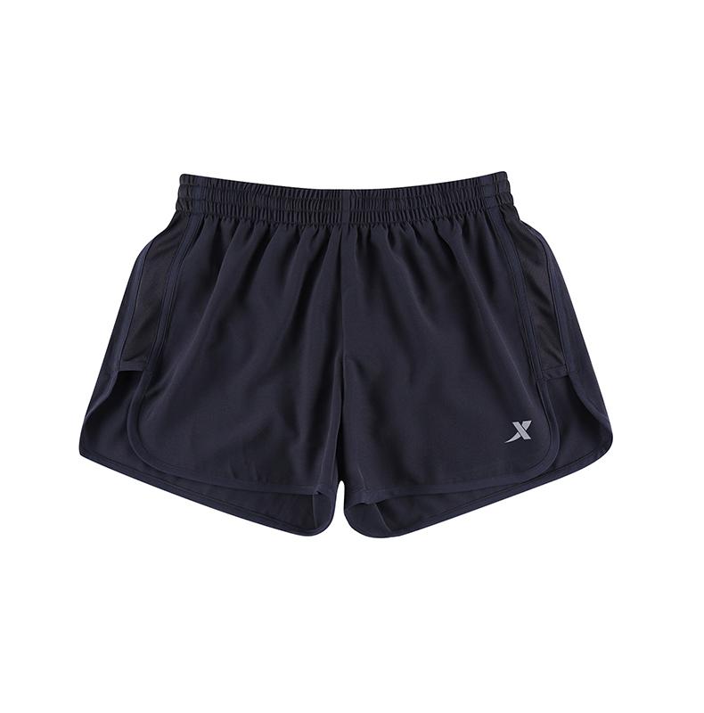 特步 女子夏季短裤  17新款 透气轻便女运动裤883328679061-