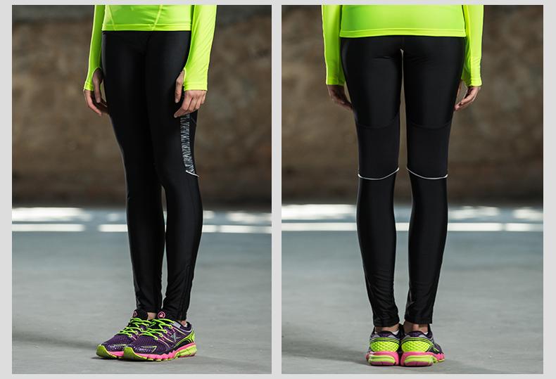 特步 2016新款女跑步紧身裤 舒适时尚百搭透气 女跑步紧身裤884328789036-