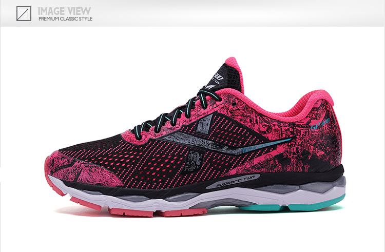 特步 女子春季马拉松跑鞋 竞训300马拉松专业跑步鞋982118116696-