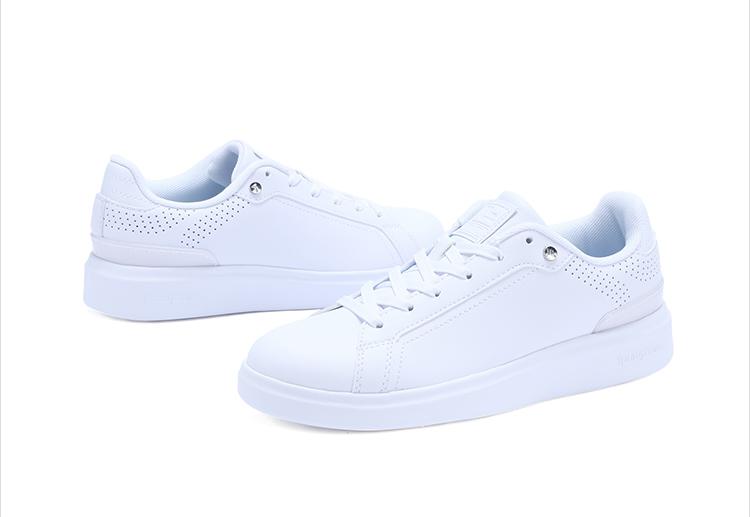 特步 专柜款 女子春季板鞋 简约百搭女鞋982118315768-