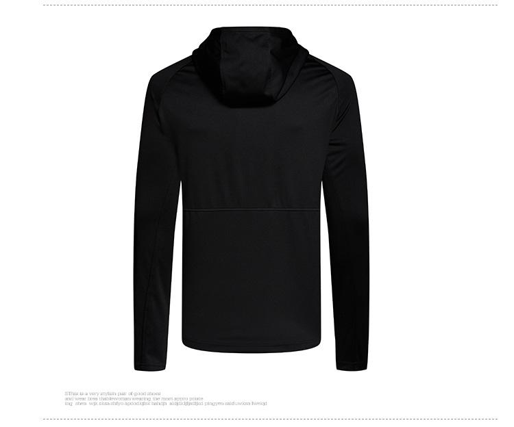 【明星同款】特步 专柜款 男子春季针织上衣 跑步透气防水谢霆锋同款外套982129061535-