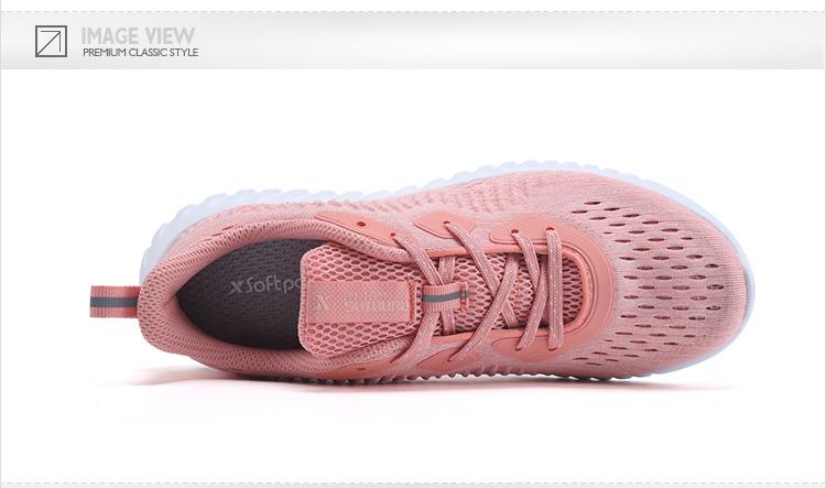 特步 专柜款 女跑鞋 舒适透气时尚运动鞋982218117010-
