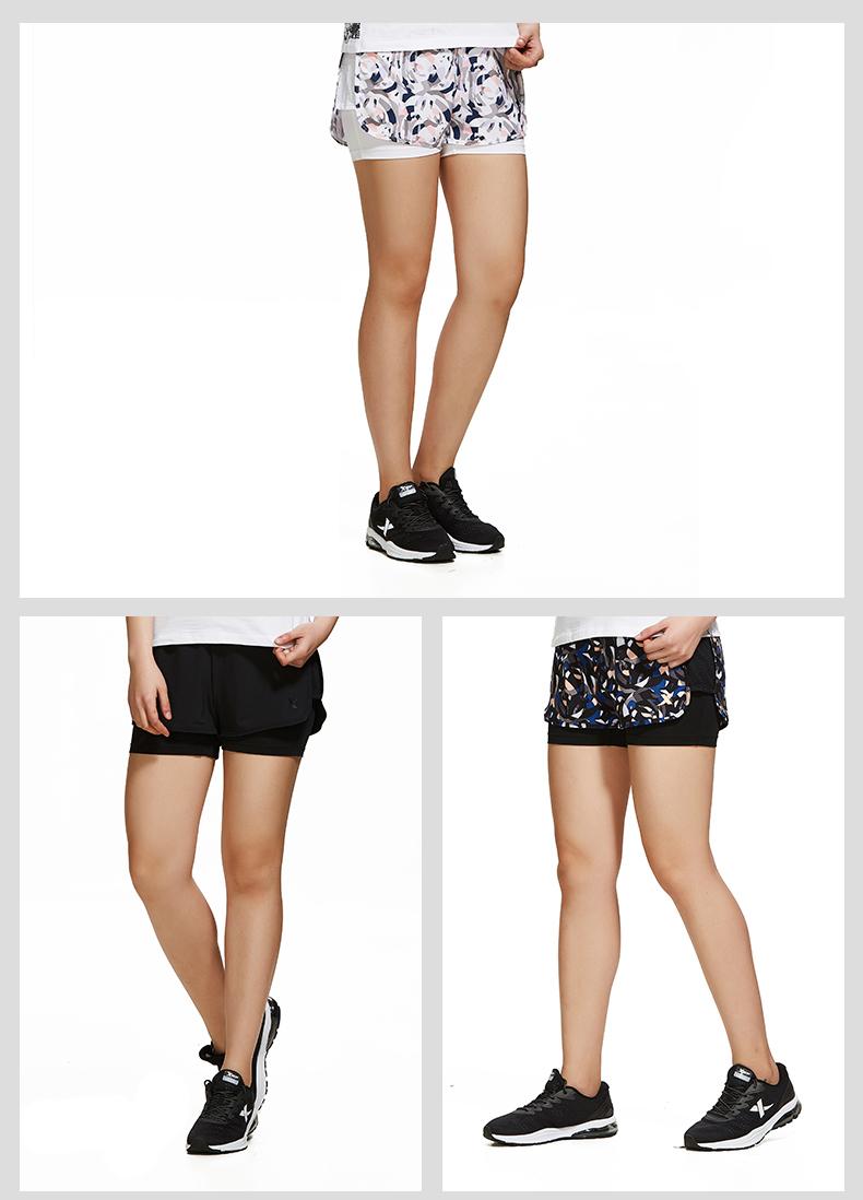 特步 专柜款 女子夏季短裤 梭织运动短裤982228240117-