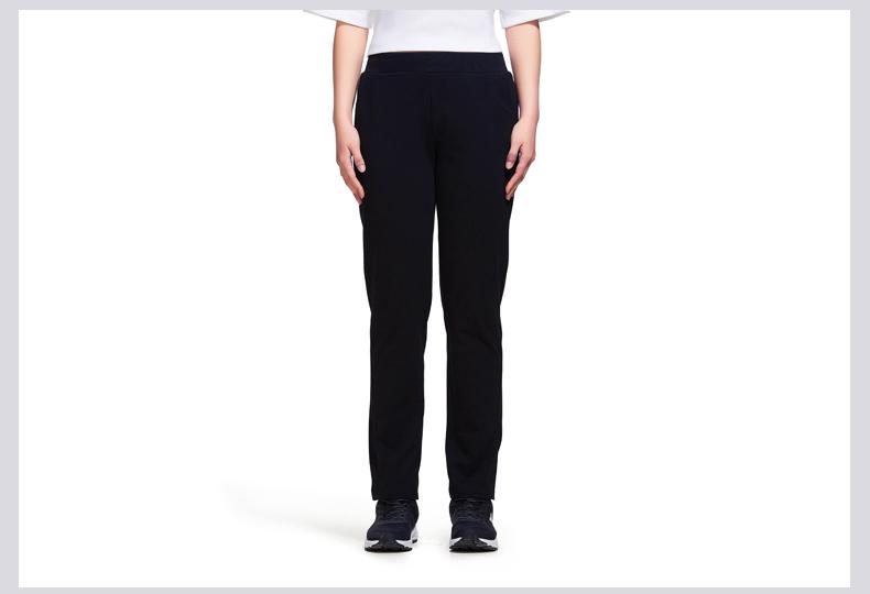 特步 专柜款 女子运动长裤夏季新款户外综训运动裤女子跑步健身休闲裤982228631387-