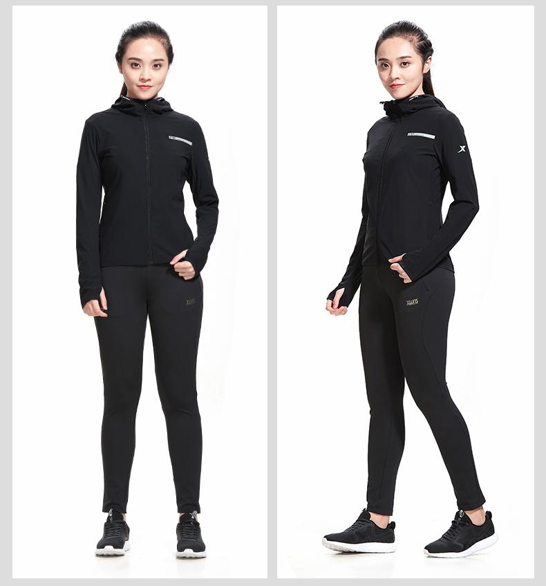 特步 专柜款 女子外套2018夏季新款舒适运动外套风衣时尚简约 982328061621-