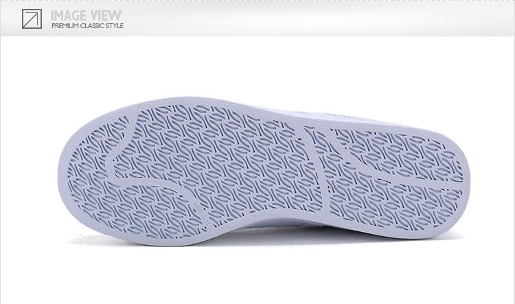 特步 专柜同款 女子春季板鞋 17年新品贝壳头板鞋 甜美印花板鞋983118315608-