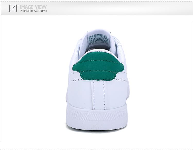 特步 专柜同款 2017年新款男子板鞋 简约百搭π鞋小白鞋983119315572-