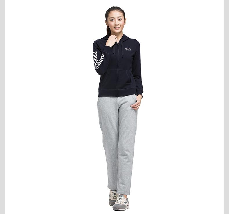 特步 专柜同款 女子春季针织衫 新品女子时尚休闲运动外套983128061238-