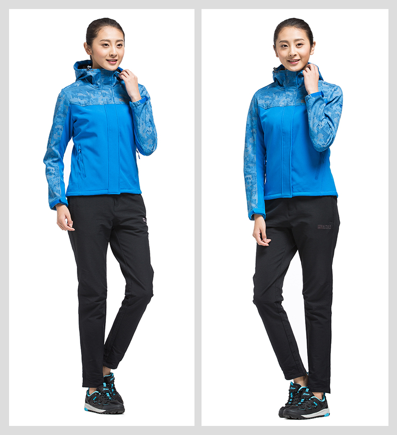 特步 专柜款 女子春季风衣 运动休闲拼接 女子单件户外风衣外套983128220007-