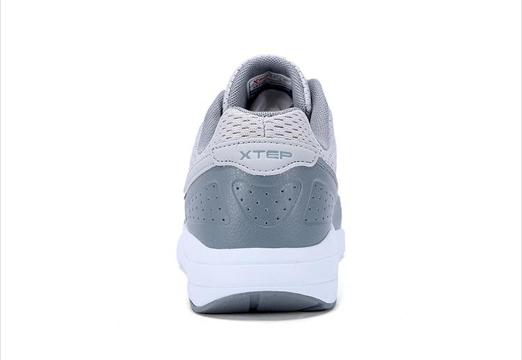 特步 专柜款 男休闲鞋17夏季新品 舒适透气男鞋983219326010-