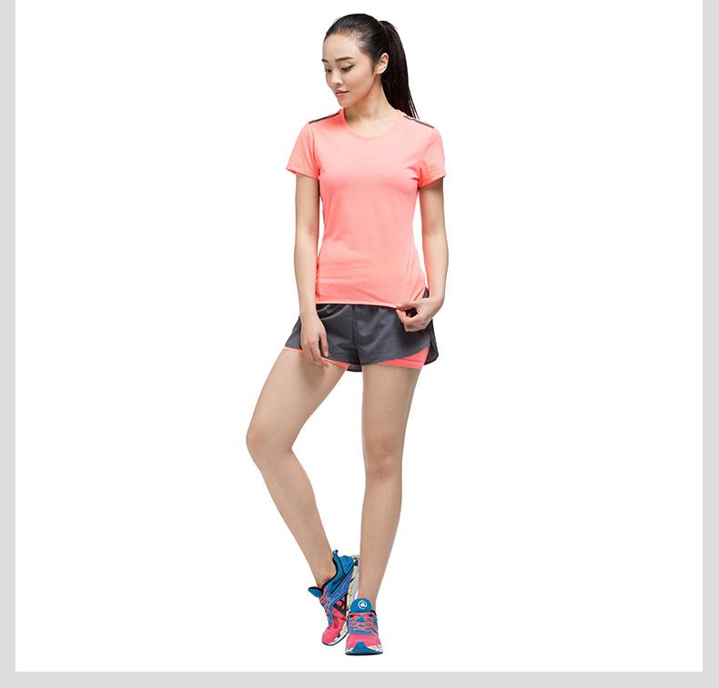 特步 专柜款 女短裤17夏季新品 运动舒适女短裤983228240036-
