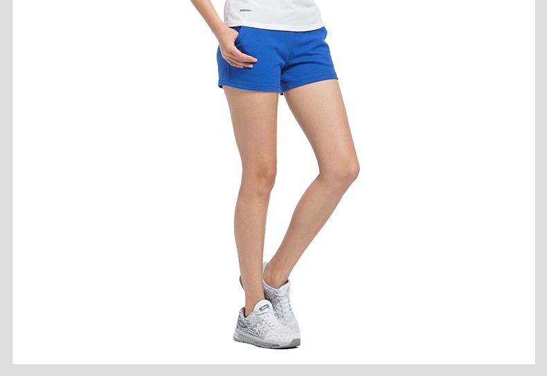 特步 专柜 女子夏季短裤 17新品983228600080-