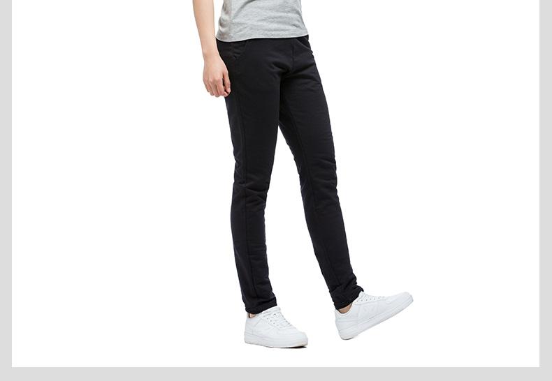 特步 女子夏季长裤 2017新款舒适休闲针织裤透气女款卫裤983228631094-