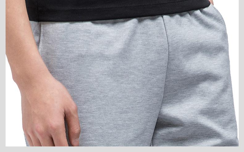 特步 专柜款 男中裤17夏季新品 时尚百搭舒适男针织裤983229610147-