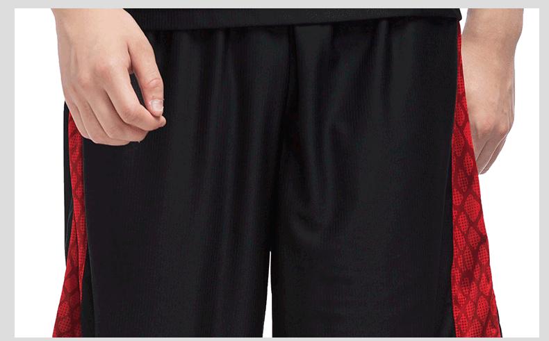 特步 专柜款 男子夏季篮球比赛套装 2017年新品男子健身运动套装983229680008-