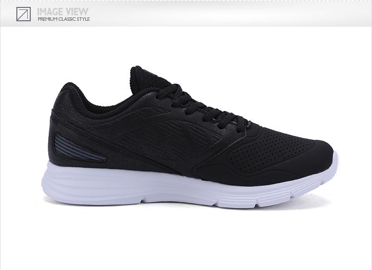 特步 专柜款 女子秋季跑鞋 17新品舒适健身运动 女子跑步鞋983318116656-