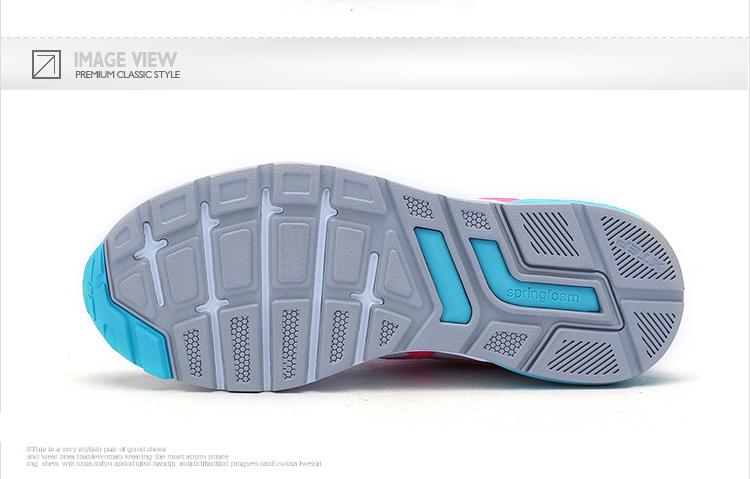 特步 专柜款 女子秋季休闲鞋 17年新品983318326139-