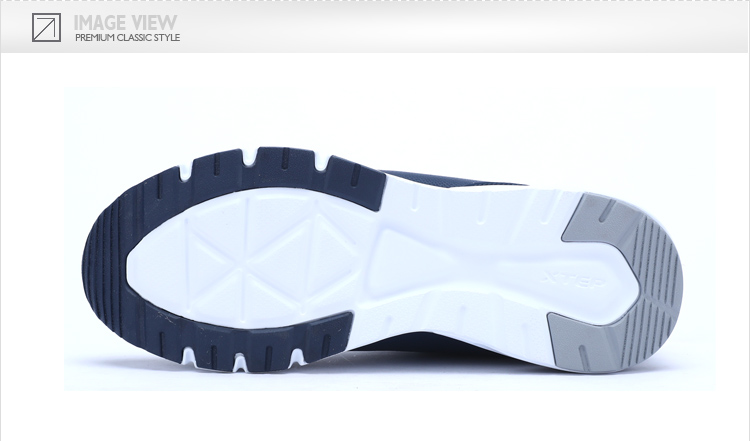 特步 专柜款 男子秋季休闲鞋 舒适运动生活男鞋983319326208-