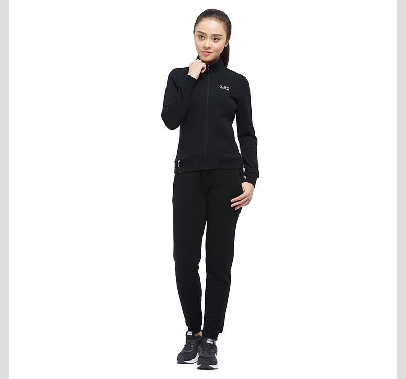 特步 专柜款 女子秋季针织衫 17新品综训健身运动外套983328061328-
