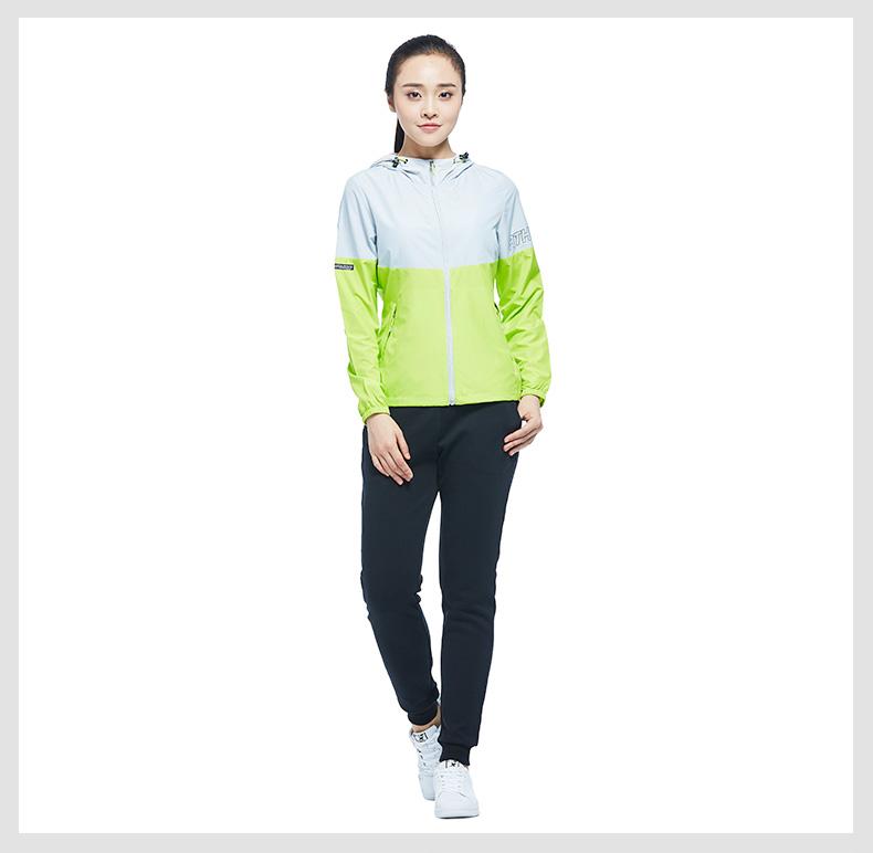 特步 女子时尚单夹克 专柜款舒适运动外套983328110082-