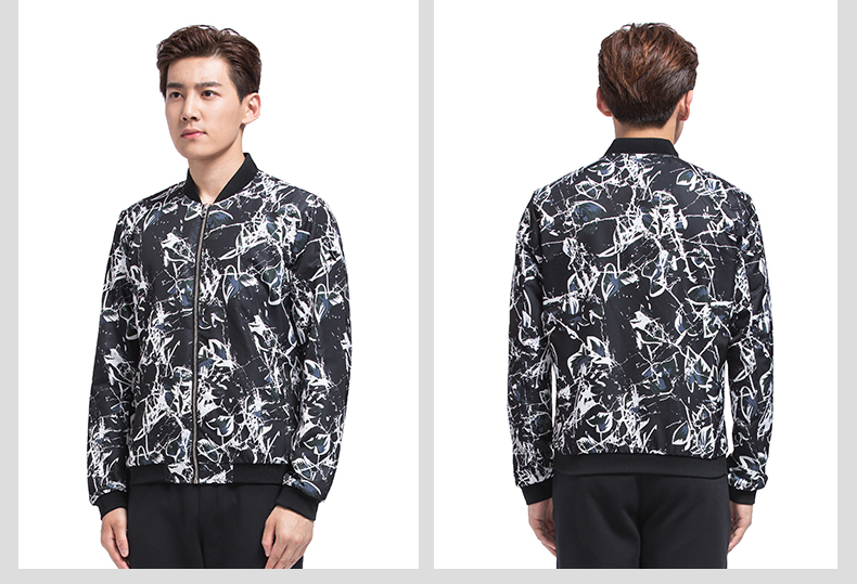 特步 男子秋季双层夹克 17新品都市系列 潮流男子夹克外套983329120770-
