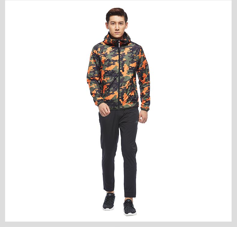特步 专柜款 男子秋季风衣 17新品983329150330-