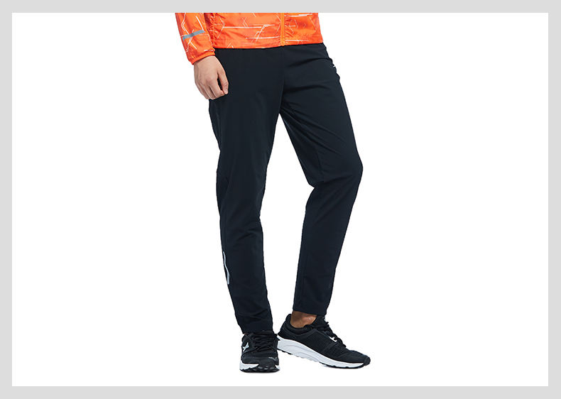 特步 专柜款 男子秋季长裤 17新品跑步运动健身男子长裤裤983329631188-