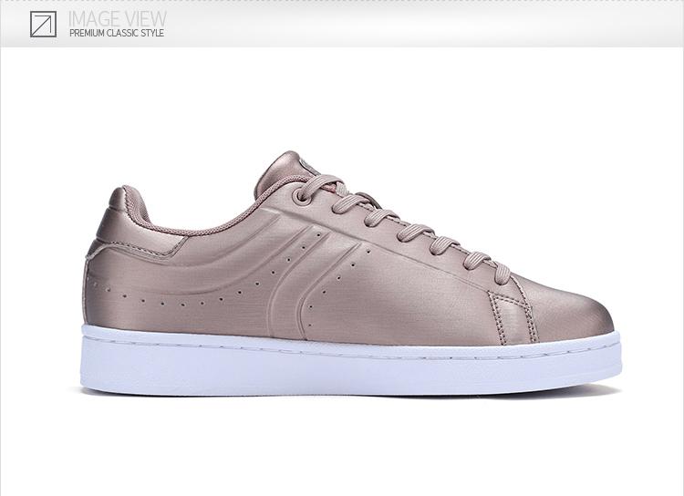 特步 女子板鞋 专柜款时尚潮流休闲鞋 983418315697-