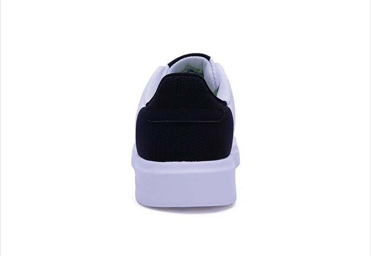 特步 专柜款 女子冬季板鞋 撞色小白鞋983418315732-