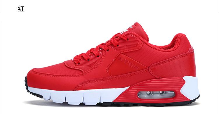 特步 专柜款 女子冬季休闲鞋 新品潮流气垫休闲鞋983418326196-