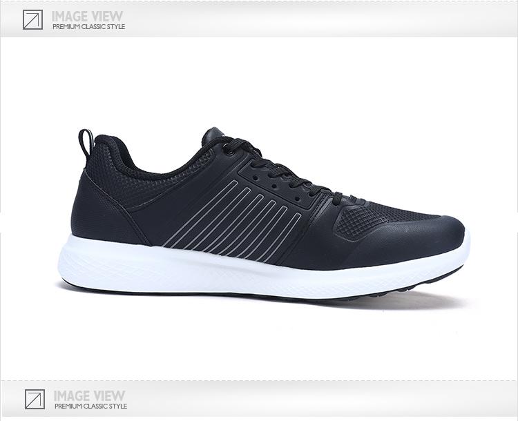特步 专柜款 男子冬季跑鞋 新品革面简约跑鞋983419116600-