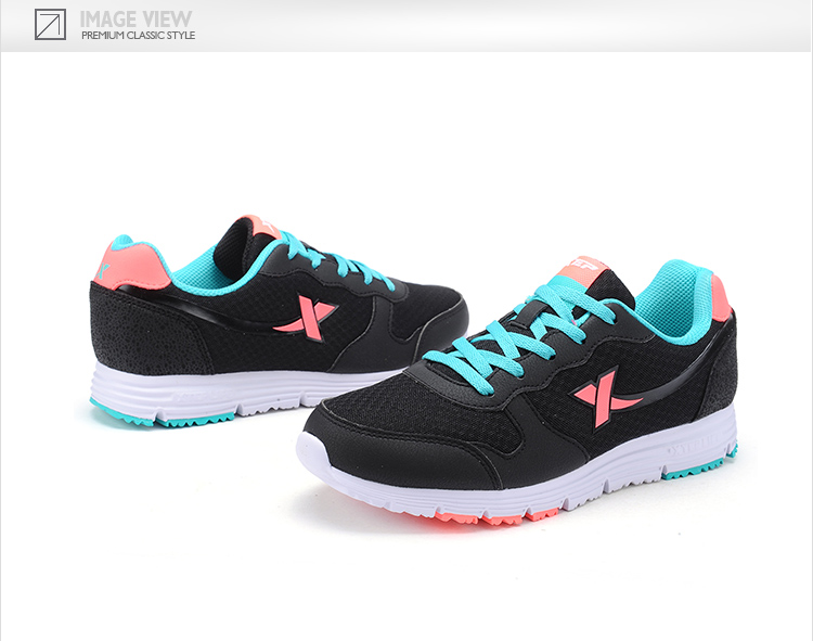 【特步官方商城】女子综训鞋 专柜同款时尚轻便防滑新款运动综合训练鞋984118520072-