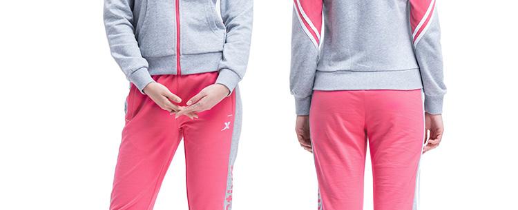 特步 新款女裤 休闲舒适百搭 女士运动长裤984128630787-