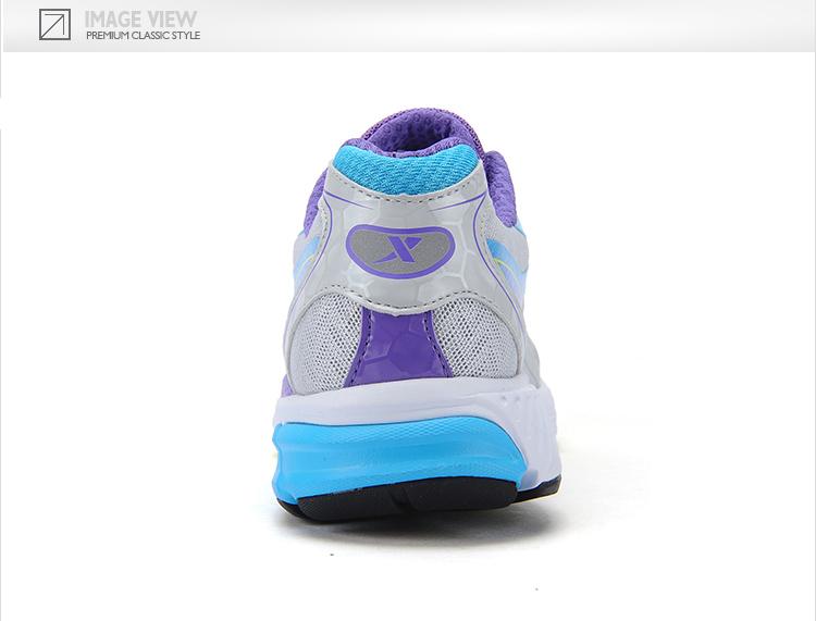 【特步官方商城】女跑鞋 2016春夏新款透气耐磨减震防滑休闲女跑鞋984218119512-