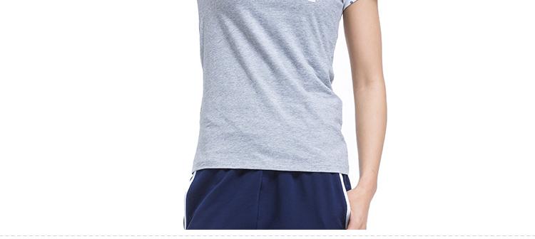 【特步官方商城】专柜同款夏季新款时尚百搭轻便透气吸汗靓丽炫彩运动短袖984228011413-
