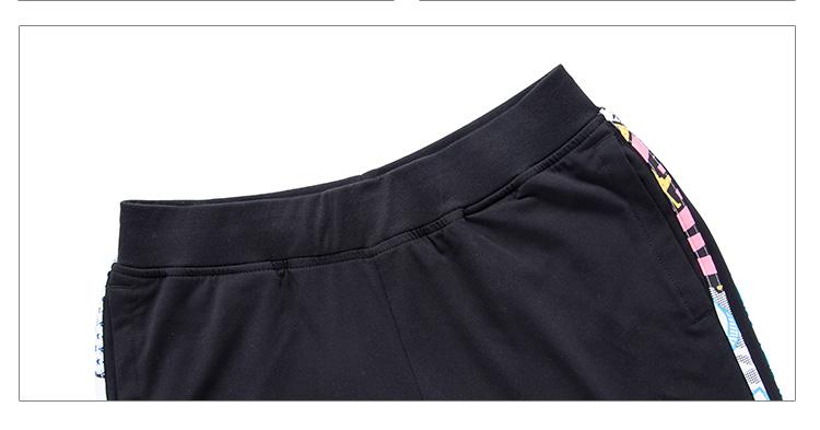 特步 夏季新款 女休闲裤 修身百搭透气排汗 女休闲裤984228350265-