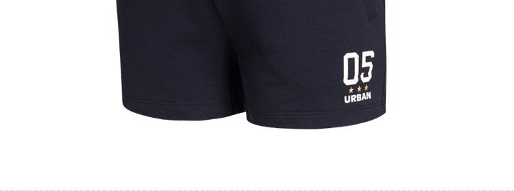 【特步官方商城】女士针织短裤  2016夏季新款简约时尚休闲运动短裤984228600067-