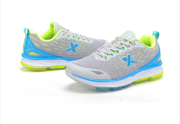 特步 专柜同款 2016秋季新款女子跑鞋 网布透气轻便缓震 女跑鞋运动鞋984318116160-