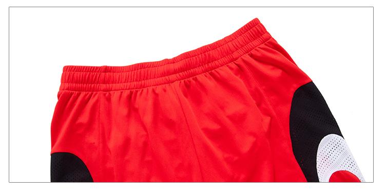 特步 专柜同款 2016秋季男子篮球裤子 宽松运动篮球比赛套装裤子984329680002-